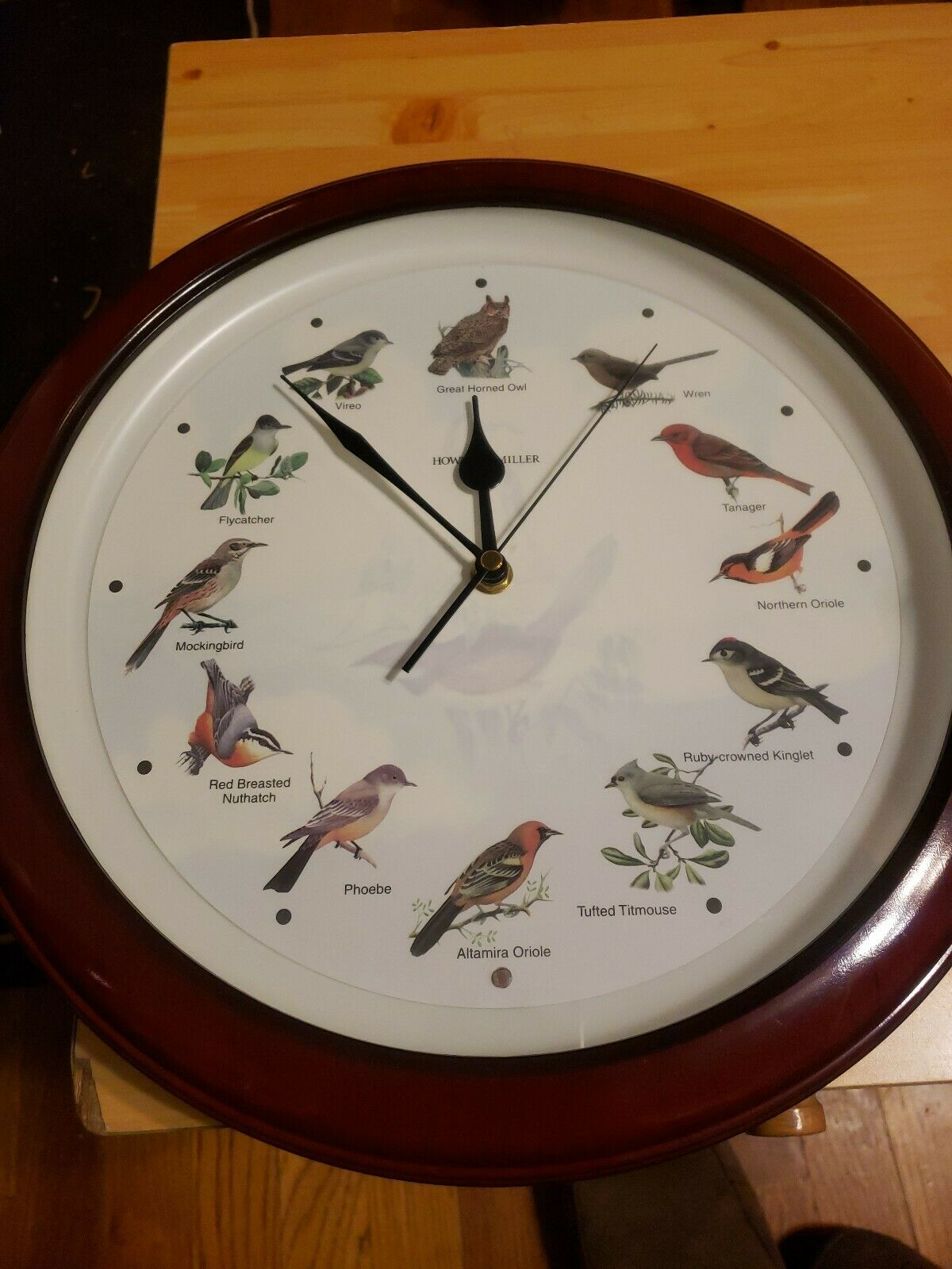 Howard Miller Songbird clock